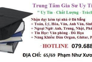 Trung tâm gia sư UY Tín đà nẵng
